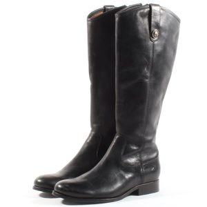 Frye Womens Melissa Button Leather Knee High Boots